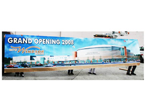 WFCU Grand Opening Banner Print