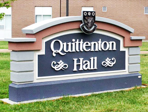 St.Clair College Quittenton Hall Exterior Signage Design Fabrication and Installation