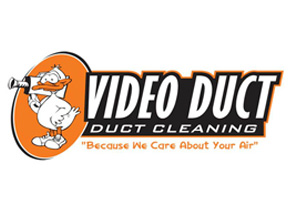 Video Duct Duct Cleaning Logo Design