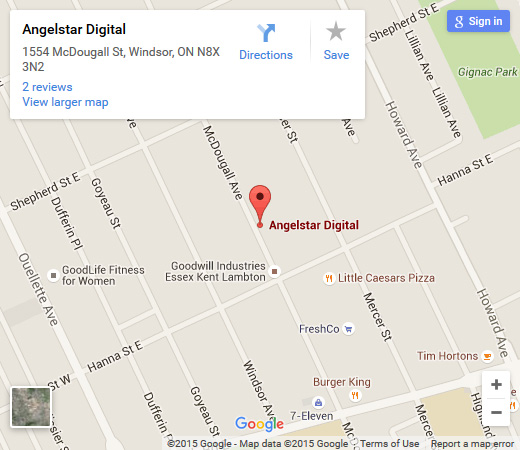 Where to find us? - Angelstar Digital on the map!