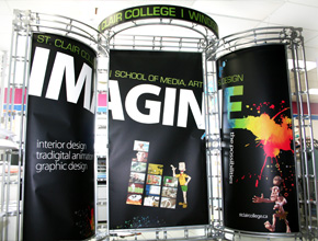 St.Clair College Tradeshow Display Designed and Fabricated