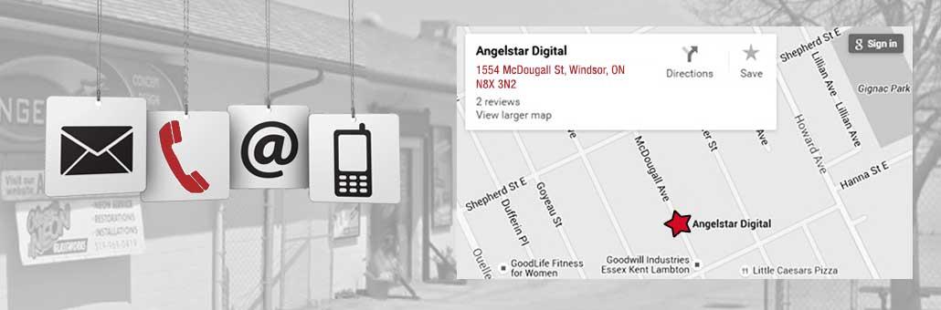 Contact AngelStar Digital in Windsor, Ontario