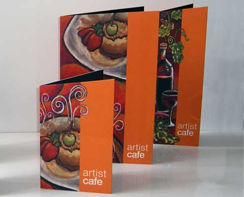 Menu design by AngelStar Digital graphic designers