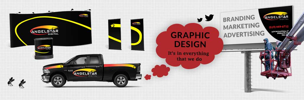 Graphic designers in Windsor, AngelStar Digital