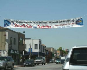 Street banner design and printing by AngelStar Digital