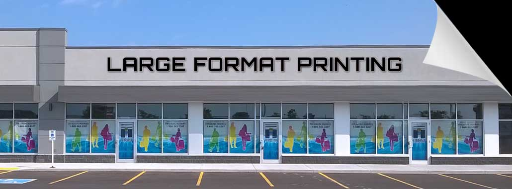 Large Format Printing of window graphics