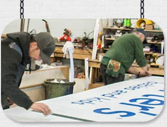 Sign design and production by AngelStar Digital Windsor, Ontario