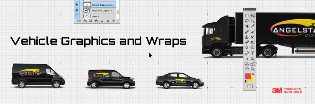 Vehicle graphics, decals and wraps in Windsor, Ontario