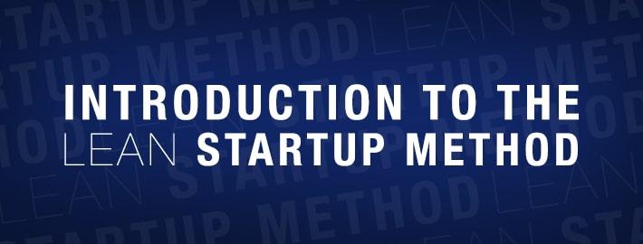 lean startup method