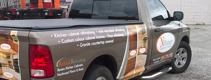Vehicle Wrap installed and designed by AngelStar Digital