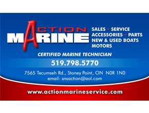 Action marine Business Card by Angel Star