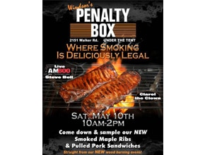 Penalty Box Poster by Angel Star