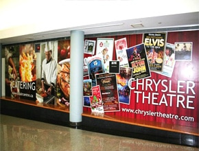 Chrysler Theatre Wide Format Print by Angel Star