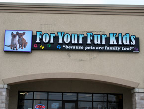 Fur Kids Letter Sign By Angel Star