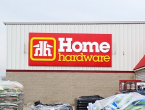 Home Hardware Letter Sign By Angel Star
