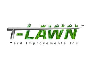T Lawn Logo by Angel Star