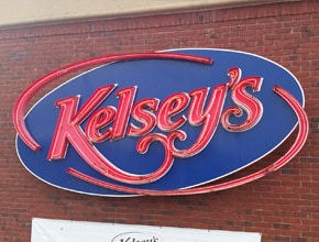 Kelseys Neon Sign by Angel Star