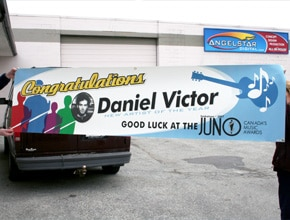 Daniel Victor Sign by Angel Star Digital