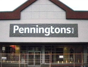 Penningtons Sign by Angel Star Digital