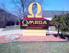 Omega Monument Sign by Angel Star