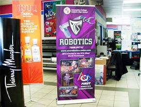 Robotics Popup Banner By Angel Star