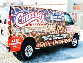Cheetahs Vehicle Wrap Design by Angel Star