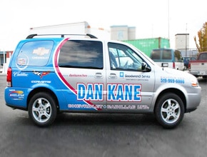 Dan Kane Vehicle Wrap Design by Angel Star