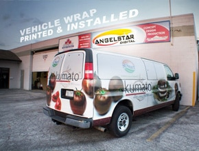 Kumato Vehicle Wrap Design by Angel Star