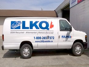 LKQ Vehicle Wrap Design by Angel Star