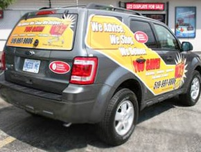 WWW Vehicle Wrap Design by Angel Star