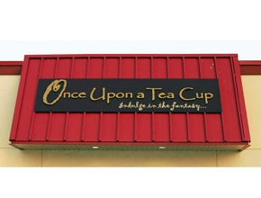 Tea Cup Wall Sign by Angel Star